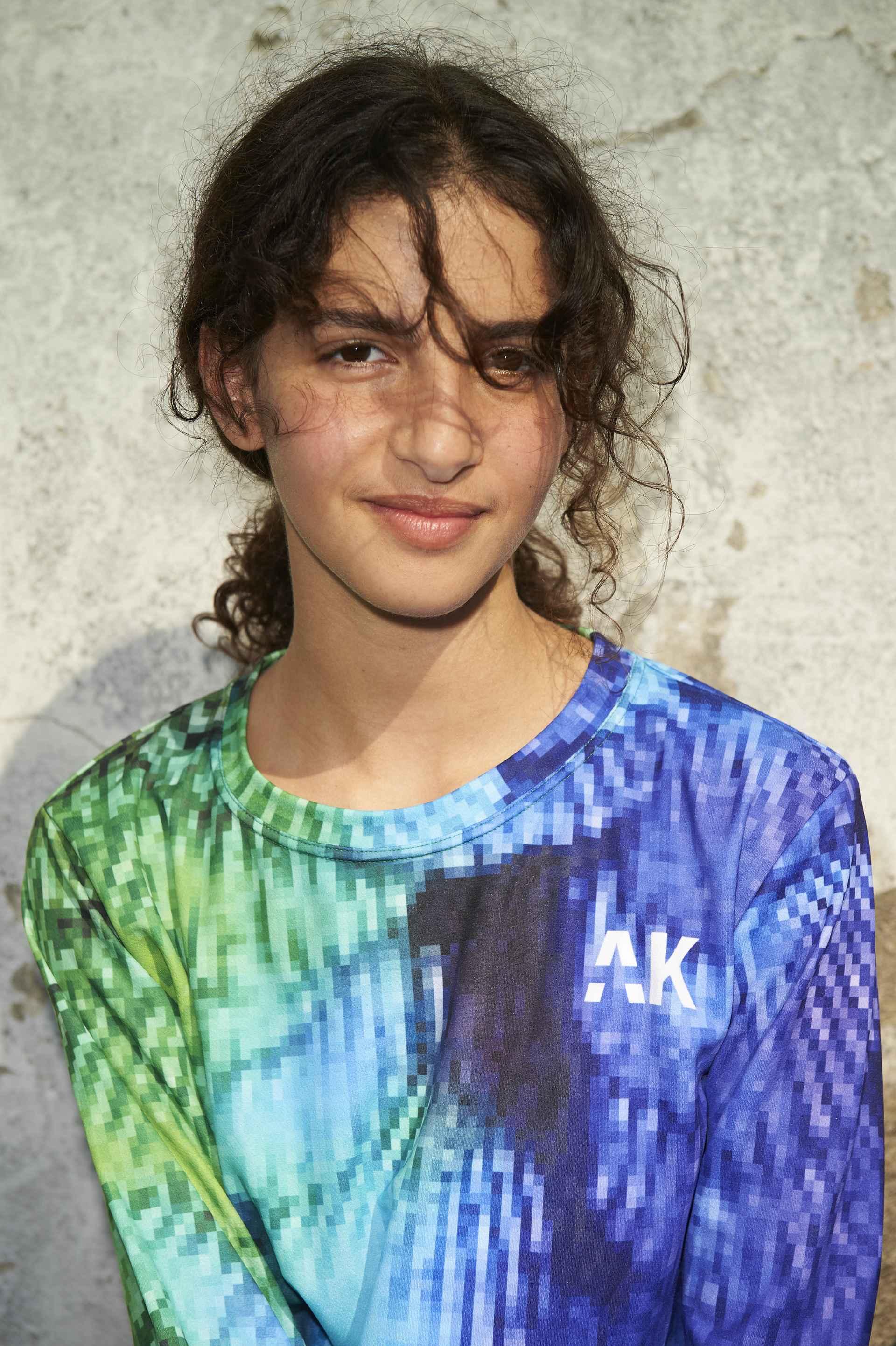 Gigi Plumage Pixel jersey