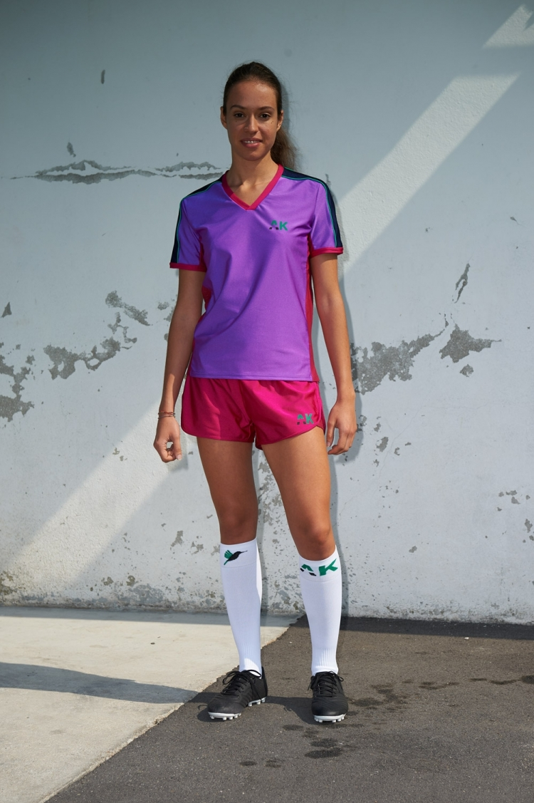 Honeyball Jersey Purple Jazz - Women's Soccer - Distant Front View