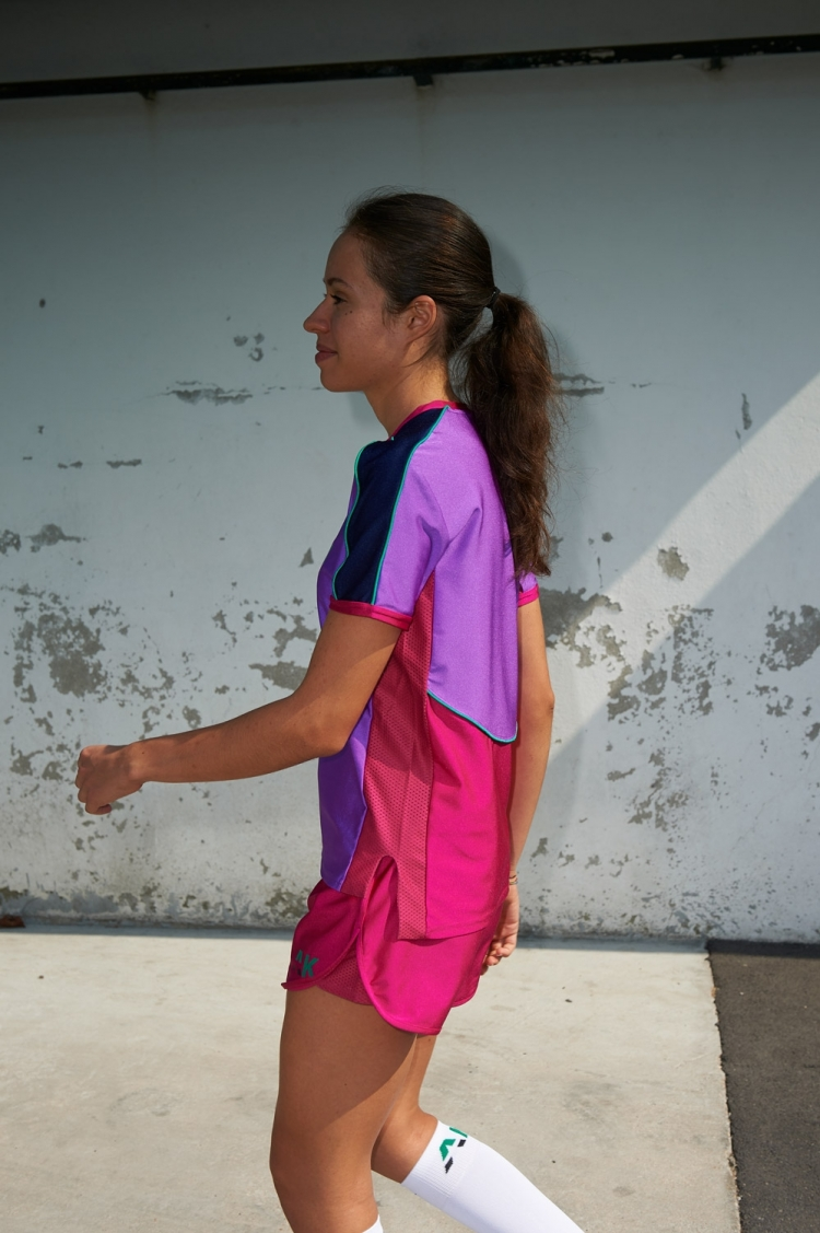 Honeyball Jersey Purple Jazz - Women's Soccer - Side View